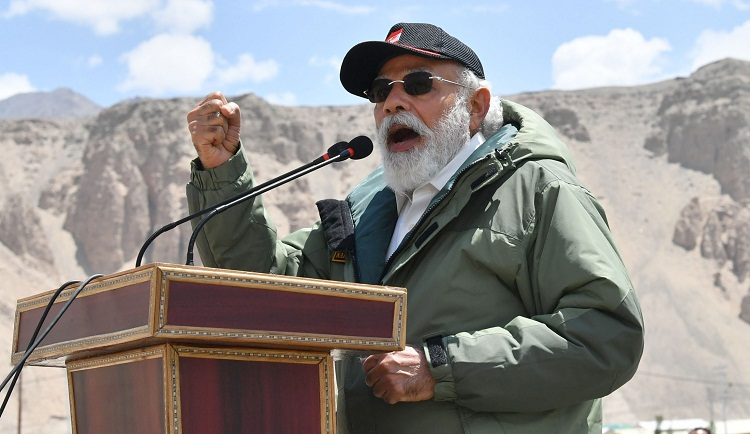 PM Modi lauds bravery of Indian soldiers in Galwan valley; Says world has taken note of India's strength