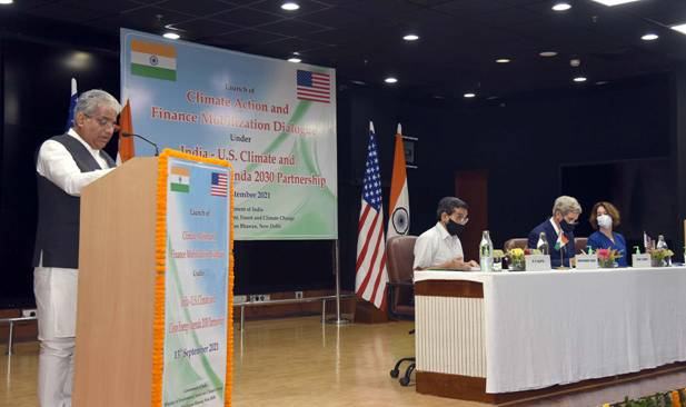 India and US are in a position to lead the world in tackling Climate Change: Mr. John Kerry