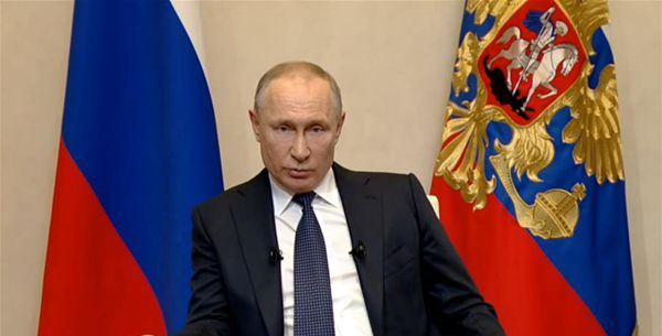 Putin Announces Paid Leave For All Russians Next Week Due To Covid 19 Fast Mail News